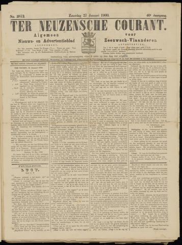 Ter Neuzensche Courant. Algemeen Nieuws- en Advertentieblad voor Zeeuwsch-Vlaanderen / Neuzensche Courant ... (idem) / (Algemeen) nieuws en advertentieblad voor Zeeuwsch-Vlaanderen 1900-01-27