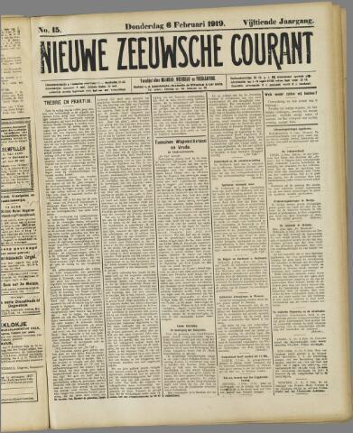 Nieuwe Zeeuwsche Courant 1919-02-06