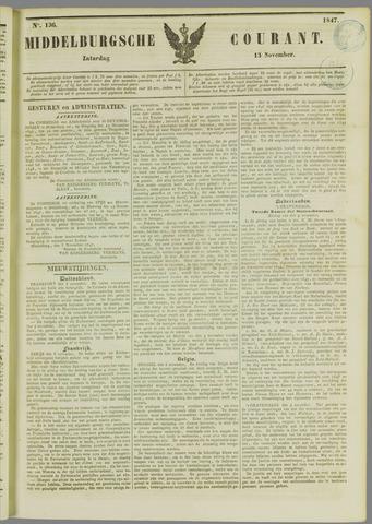 Middelburgsche Courant 1847-11-13