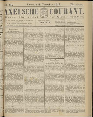 Axelsche Courant 1912-11-02