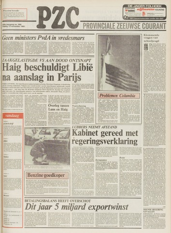 Provinciale Zeeuwse Courant 1981-11-13