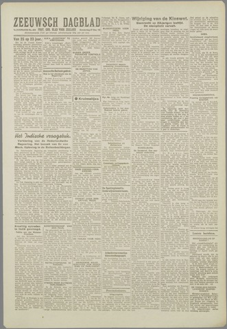 Zeeuwsch Dagblad 1945-12-27