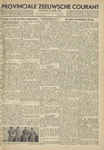 Provinciale Zeeuwse Courant 1944-04-24