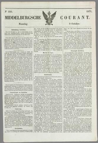 Middelburgsche Courant 1871-10-09