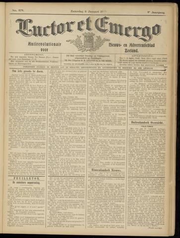 Luctor et Emergo. Antirevolutionair nieuws- en advertentieblad voor Zeeland / Zeeuwsch-Vlaanderen. Orgaan ter verspreiding van de christelijke beginselen in Zeeuwsch-Vlaanderen 1912-01-06