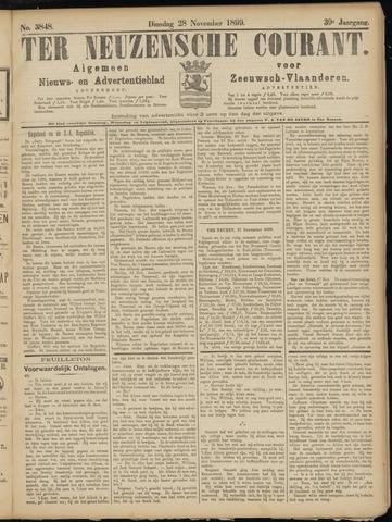 Ter Neuzensche Courant. Algemeen Nieuws- en Advertentieblad voor Zeeuwsch-Vlaanderen / Neuzensche Courant ... (idem) / (Algemeen) nieuws en advertentieblad voor Zeeuwsch-Vlaanderen 1899-11-28
