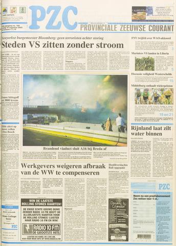 Provinciale Zeeuwse Courant 2003-08-15