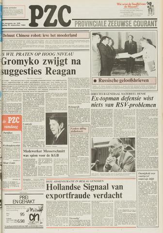 Provinciale Zeeuwse Courant 1984-09-25