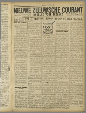 Nieuwe Zeeuwsche Courant 1921-05-17