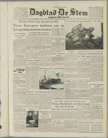 de Stem 1954-09-21