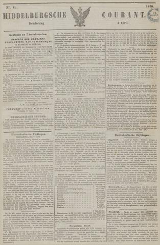 Middelburgsche Courant 1850-04-04