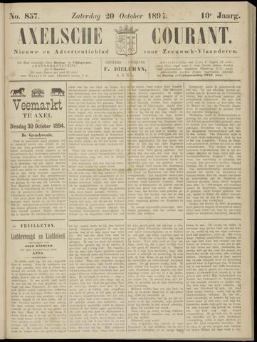 Axelsche Courant 1894-10-20