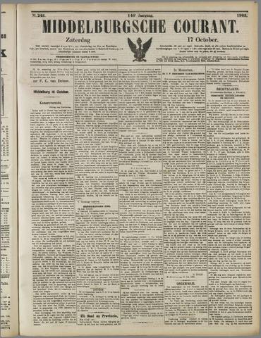 Middelburgsche Courant 1903-10-17