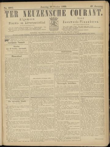 Ter Neuzensche Courant. Algemeen Nieuws- en Advertentieblad voor Zeeuwsch-Vlaanderen / Neuzensche Courant ... (idem) / (Algemeen) nieuws en advertentieblad voor Zeeuwsch-Vlaanderen 1900-10-20