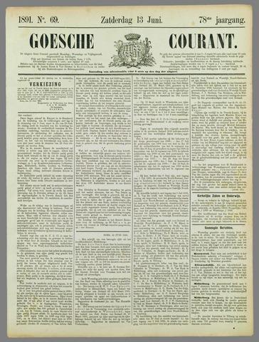 Goessche Courant 1891-06-13