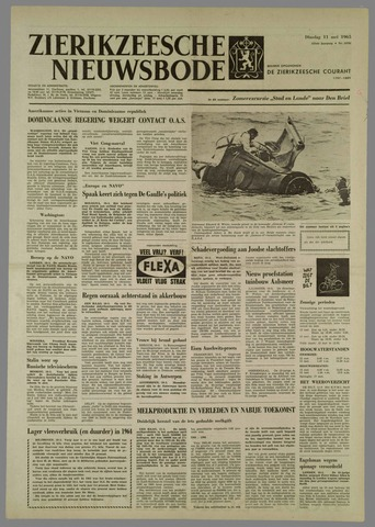 Zierikzeesche Nieuwsbode 1965-05-11