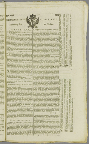 Middelburgsche Courant 1810-10-11