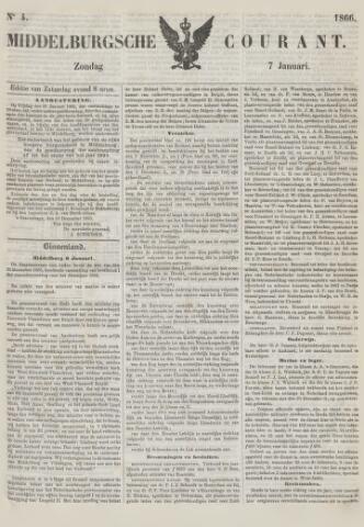 Middelburgsche Courant 1866-01-07