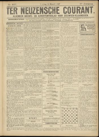 Ter Neuzensche Courant. Algemeen Nieuws- en Advertentieblad voor Zeeuwsch-Vlaanderen / Neuzensche Courant ... (idem) / (Algemeen) nieuws en advertentieblad voor Zeeuwsch-Vlaanderen 1927-03-04