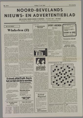 Noord-Bevelands Nieuws- en advertentieblad 1985-05-17