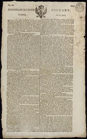 Middelburgsche Courant 1814-06-23