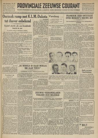 Provinciale Zeeuwse Courant 1950-02-03