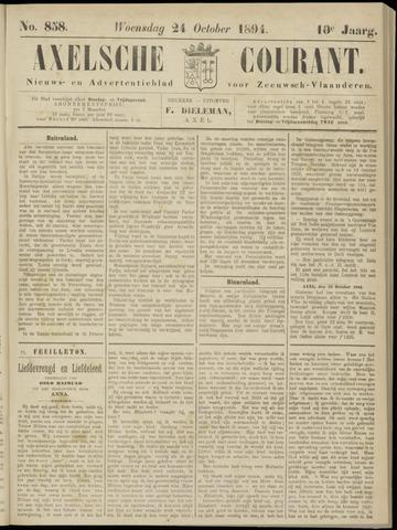 Axelsche Courant 1894-10-24