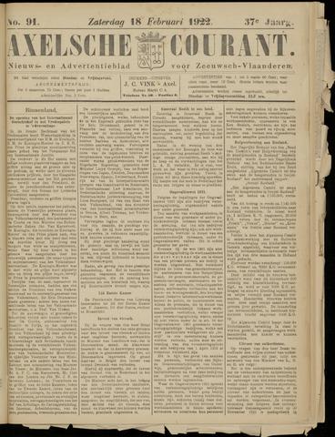 Axelsche Courant 1922-02-18