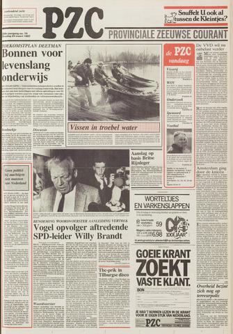 Provinciale Zeeuwse Courant 1987-03-24