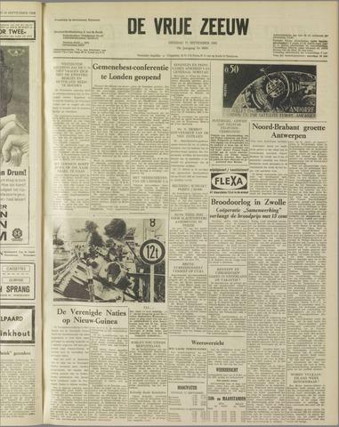 de Vrije Zeeuw 1962-09-11