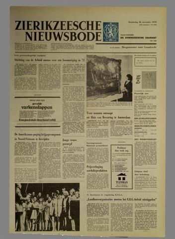 Zierikzeesche Nieuwsbode 1970-11-26