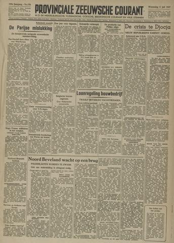 Provinciale Zeeuwse Courant 1947-07-02