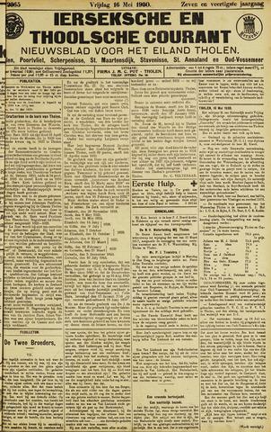 Ierseksche en Thoolsche Courant 1930-05-16