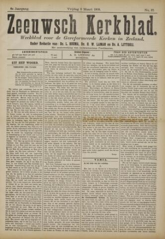 Zeeuwsche kerkbode, weekblad gewijd aan de belangen der gereformeerde kerken/ Zeeuwsch kerkblad 1909-03-05