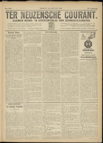 Ter Neuzensche Courant. Algemeen Nieuws- en Advertentieblad voor Zeeuwsch-Vlaanderen / Neuzensche Courant ... (idem) / (Algemeen) nieuws en advertentieblad voor Zeeuwsch-Vlaanderen 1930-01-24