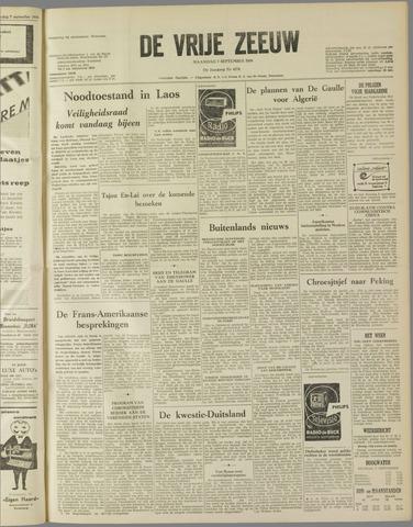 de Vrije Zeeuw 1959-09-07