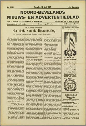 Noord-Bevelands Nieuws- en advertentieblad 1947-05-17