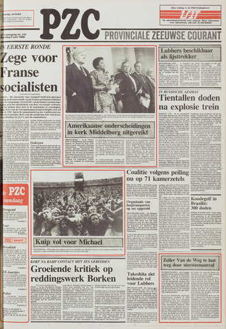 Provinciale Zeeuwse Courant 1988-06-06