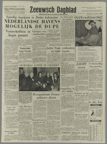 Zeeuwsch Dagblad 1958-12-31
