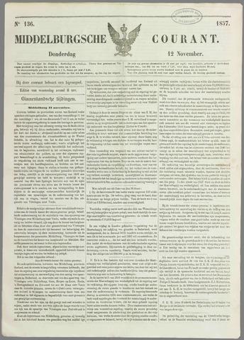 Middelburgsche Courant 1857-11-12