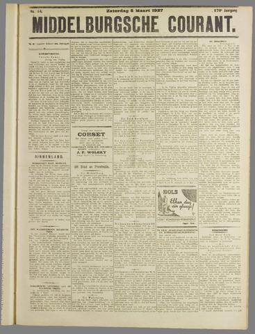 Middelburgsche Courant 1927-03-05