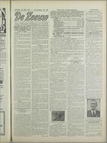 De Zeeuw. Christelijk-historisch nieuwsblad voor Zeeland 1943-07-20