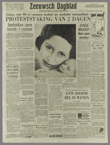 Zeeuwsch Dagblad 1961-11-29