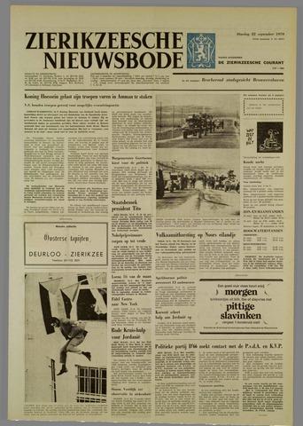 Zierikzeesche Nieuwsbode 1970-09-22