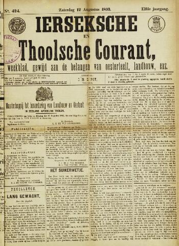 Ierseksche en Thoolsche Courant 1893-08-12