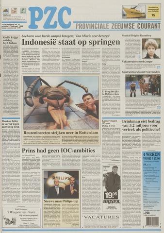 Provinciale Zeeuwse Courant 1998-02-13