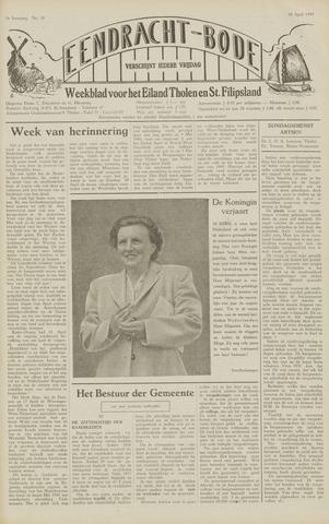 Eendrachtbode (1945-heden)/Mededeelingenblad voor het eiland Tholen (1944/45) 1949-04-29
