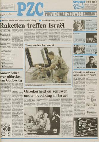 Provinciale Zeeuwse Courant 1991-01-18