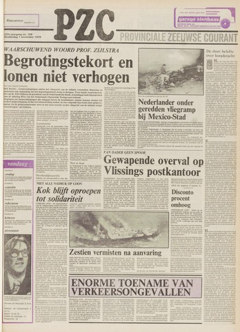 Provinciale Zeeuwse Courant 1979-11-01