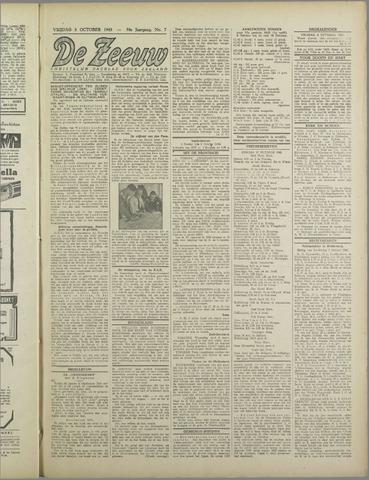 De Zeeuw. Christelijk-historisch nieuwsblad voor Zeeland 1943-10-08